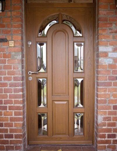 drewniane drzwi zewnętrzne-min